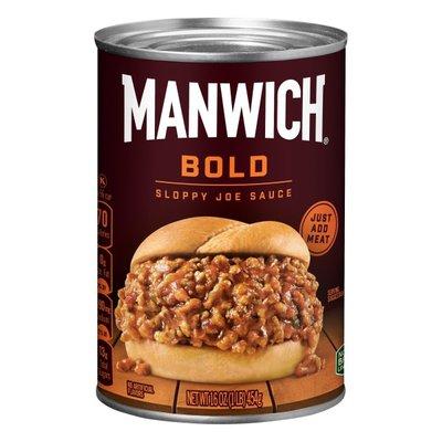 Manwich Single Serve Bold Sloppy Joe Sauce
