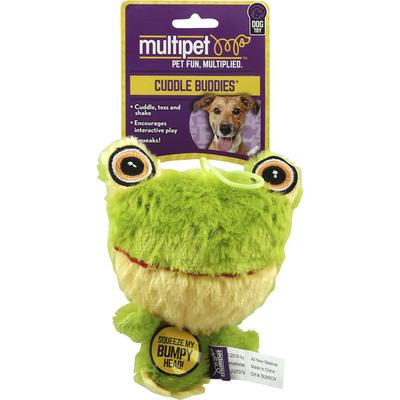 Multipet Dog Toy, Cuddle Buddies, Knobby Noggins Asst