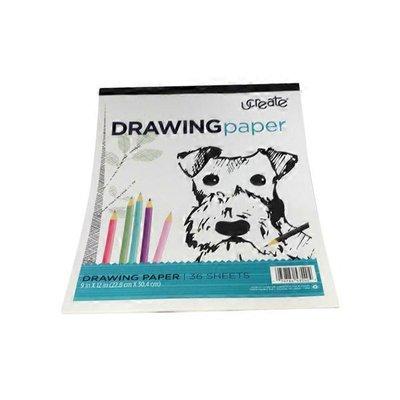"""U Create 9"""" x 12"""" Drawing Pad"""
