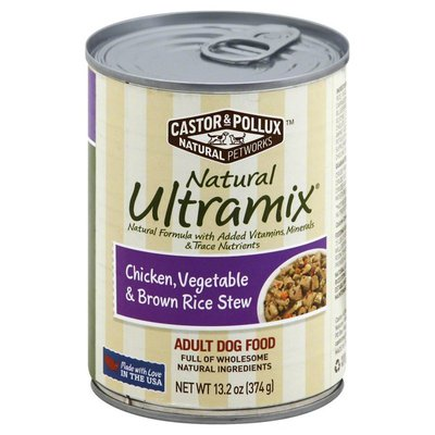 Castor & Pollux Dog Food, Chicken, Vegetable & Brown Rice Stew, Adult