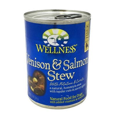 Wellness Venison & Salmon Stew With Potatoes & Carrots Natural Food For Dogs