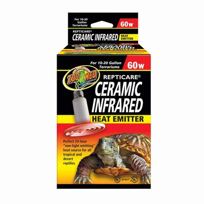 Zoo Med Repticare 60 Watt Ceramic Infrared Heat Emitter