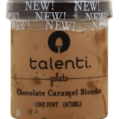 Talenti Gelato Chocolate Caramel Blondie