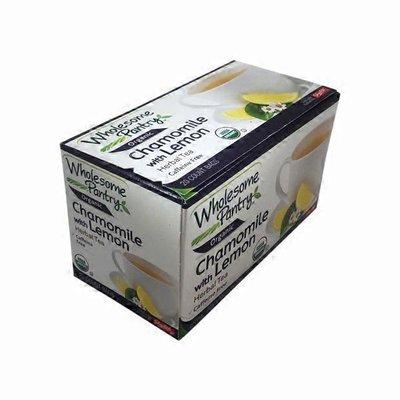 Wholesome Pantry Chamomile with Lemon Caffeine Free Herbal Tea