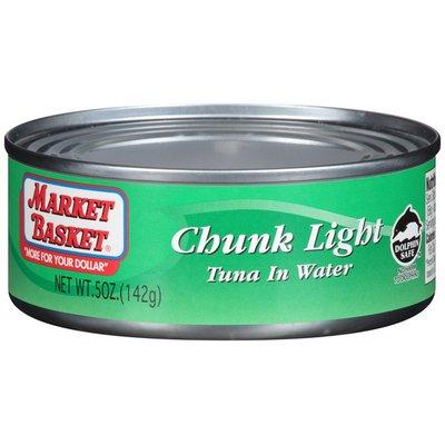 Market Basket Chunk Light in Water Tuna