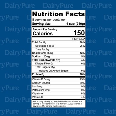 DairyPure Vitamin D Whole Milk
