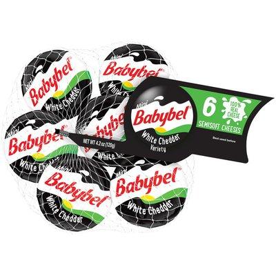 Babybel White Cheddar Variety Semisoft Cheese