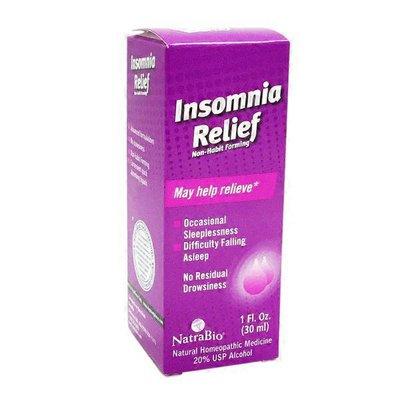 NatraBio Insomnia Relief