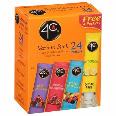 4C Foods Drink Mix, Sugar Free, Bonus Variety Pack