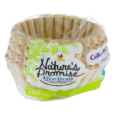 Nature's Promise Coffee Filter - 200 CT