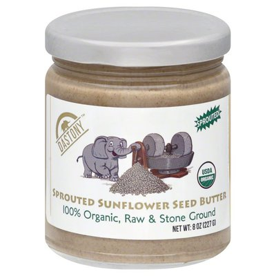 DASTONY Butter, Sunflower Seed, Sprouted, Organic, Jar