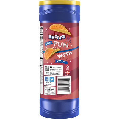 Lay's Stax Mesquite Barbecue Potato Chips