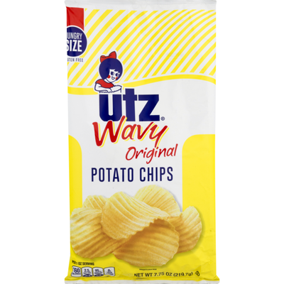 Utz Wavy Potato Chips Original