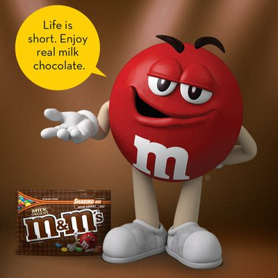 M&M's Milk Chocolate Candy Sharing Size