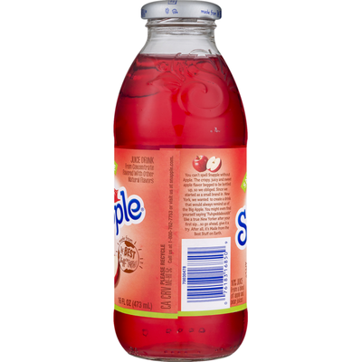 Snapple Juice Drink,  Apple