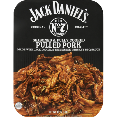 Jack Daniel's Pulled Chicken, Seasoned & Fully Cooked