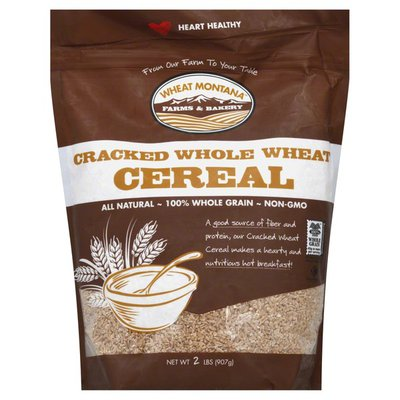 Wheat Montana Cereal, Cracked Whole Wheat