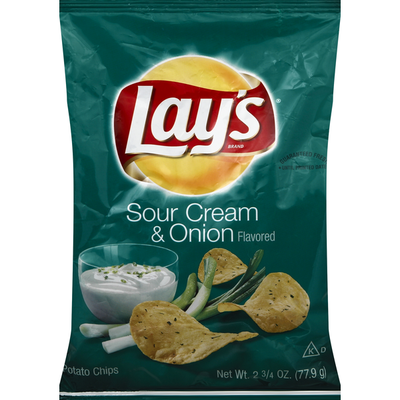 Lay's Sour Cream And Onion Potato Chips