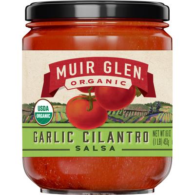 Muir Glen Salsa, Garlic Cilantro