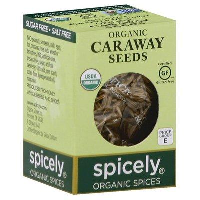 Spicely Organics Caraway Seeds, Organic