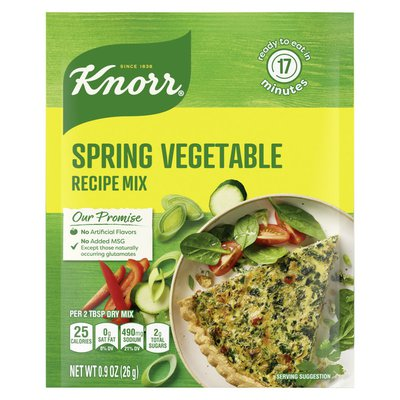 Knorr Soup Mix And Recipe Mix Spring Vegetable