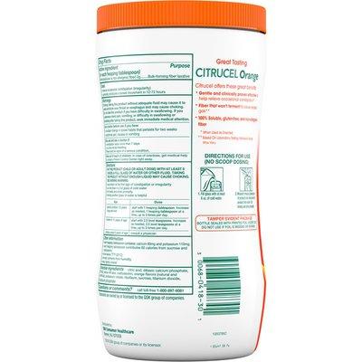 Citrucel Fiber Powder for Occasional Constipation, Fiber Powder for Occasional Constipation