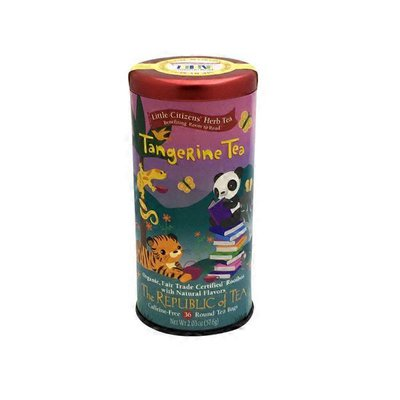 The Republic Of Tea Little Citizens Caffeine-free Herb Tea, Tangerine