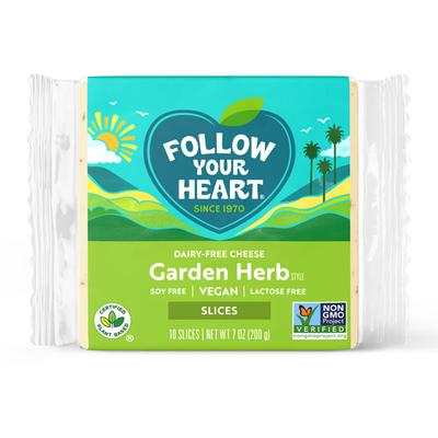 Follow Your Heart Dairy-Free Garden Herb Slice