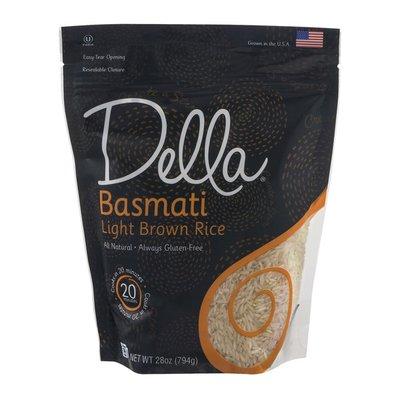 Della Light Brown Rice, Basmati