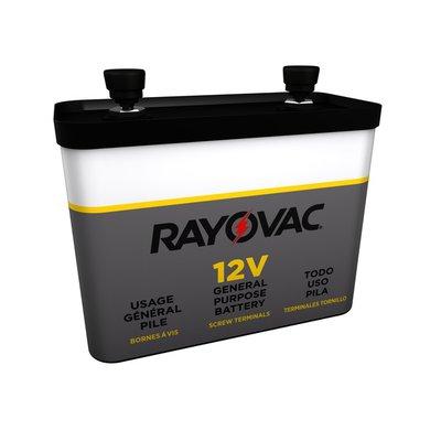 Rayovac General Purpose 12V Battery, Screw Terminals
