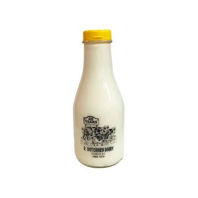 DD 3.25% Milkfat Mik in Glass Bottle