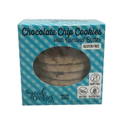 The Good Cookie Gluten Free Chocolate Chip Almond Butter Cookie