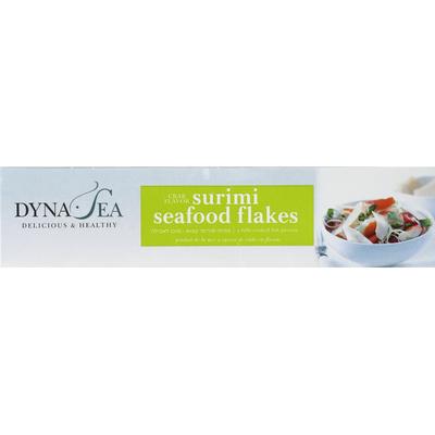 Dyna Ea Seafood Flakes, Surimi, Crab Flavor