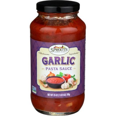 Sprouts Garlic Pasta Sauce