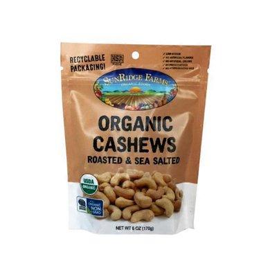 SunRidge Farms Organic Roasted & Salted Whole Cashews