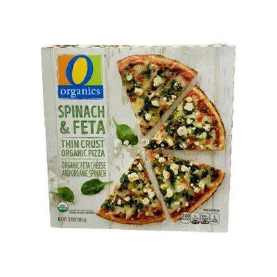 O Organics Spinach & Feta Thin Crust Organic Pizza