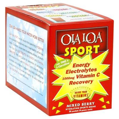 Ola Loa Hydrating Sports Drink, Mixed Berry