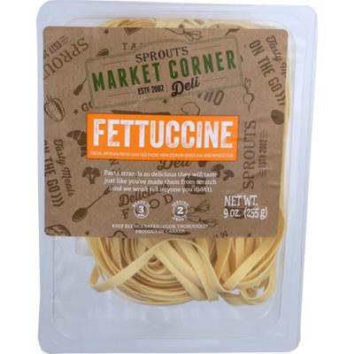 Sprouts Fettuccine Pasta