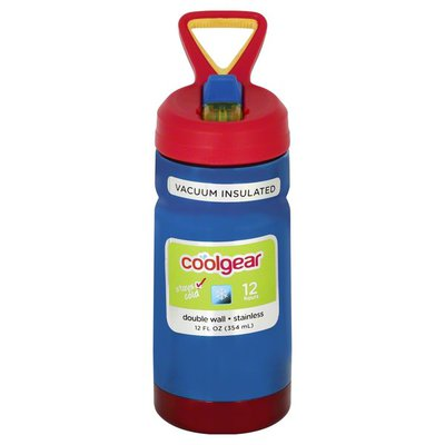 Cool Gear Bottle, Vacuum Insulated, 12 Fluid Ounce