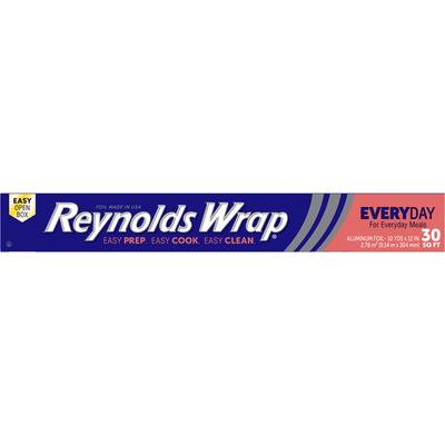 Reynolds Wrap Aluminum Foil, Everyday, 30 Square Feet