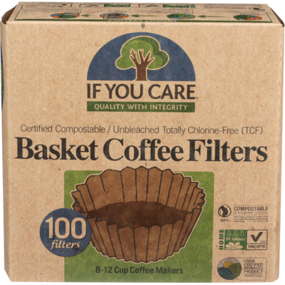 If You Care Basket Coffee Filters