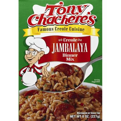 Tony Chachere's Dinner Mix, Creole Jambalaya