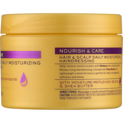Motions Nourish & Care Hair & Scalp Daily Mousturizing Hairdressing