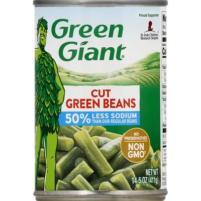 Green Giant Less Sodium Cut Green Beans