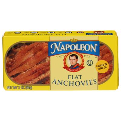 Napoleon Co. Flat Anchovies