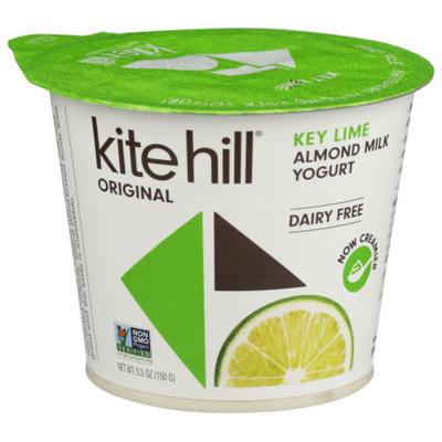 Kite Hill Almond Milk Yogurt, Dairy Free, Key Lime