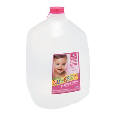 Nursery Water, Purified
