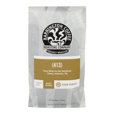 Barrington Coffee Roasting Company Whole Bean Coffee (413)