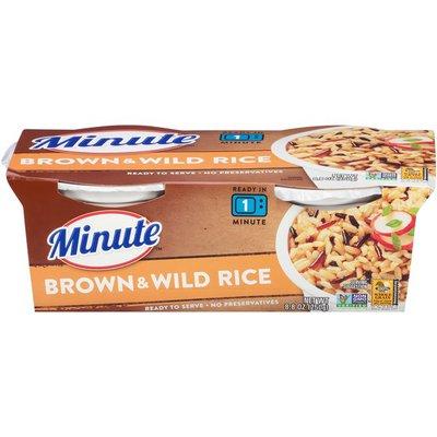 Minute Rice Brown & Wild Rice