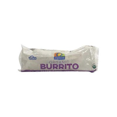 O Organics Burrito, Organic, Black Bean, Quinoa